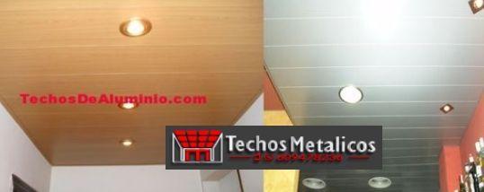 Techos de aluminio en Los Llanos de Tormes