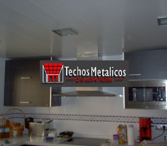 Techos de aluminio en Maello