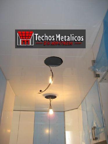 Techos de aluminio en Martiherrero