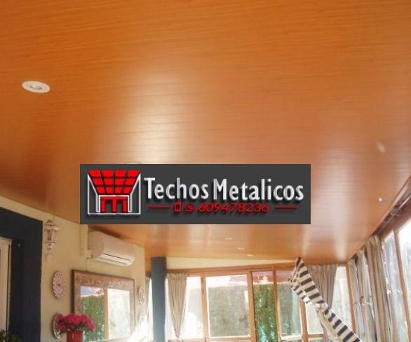 Techos de aluminio en Martínez