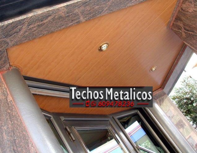 Techos de aluminio en Masegoso