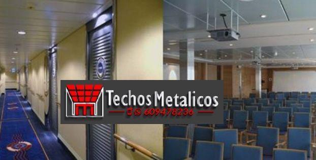 Techos de aluminio en Medinilla