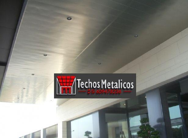 Techos de aluminio en Minaya
