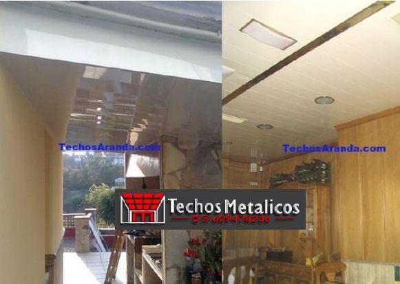 Techos de aluminio en Mingorría