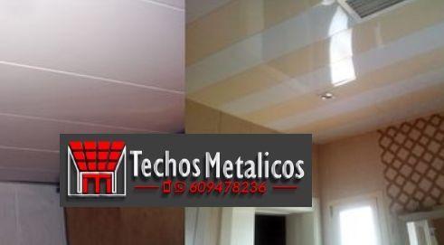 Techos de aluminio en Mironcillo