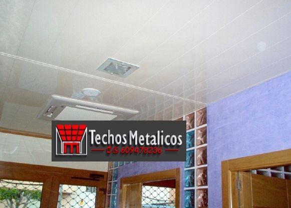 Techos de aluminio en Molinicos