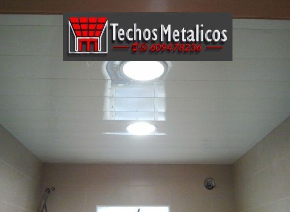 Techos de aluminio en Mombeltrán