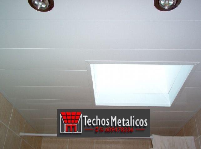 Techos de aluminio en Motilleja
