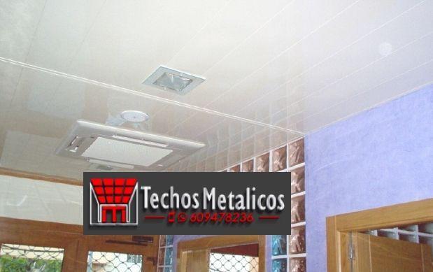 Techos de aluminio en Muñico