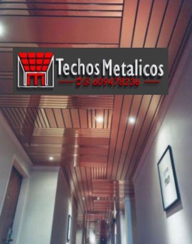 Techos de aluminio en Muñogalindo
