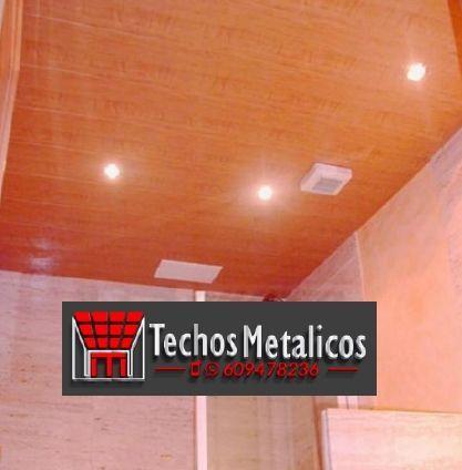 Techos de aluminio en Muñogrande