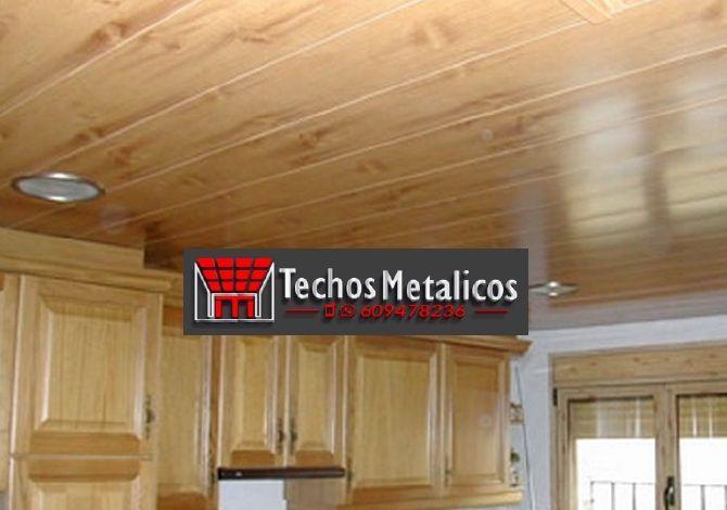 Techos de aluminio en Narros del Castillo