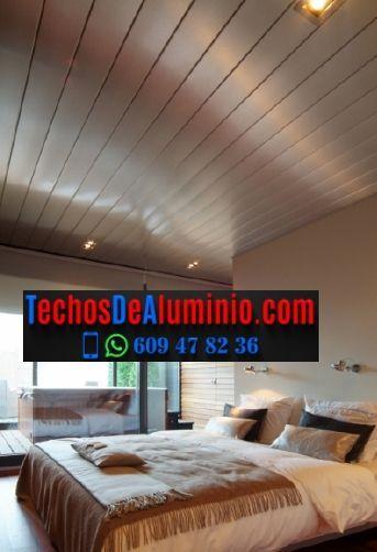 Techos de aluminio en Narros del Puerto