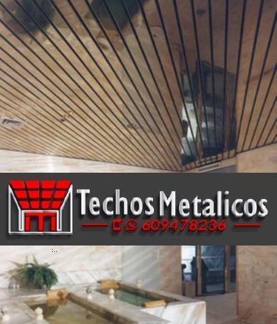 Techos de aluminio en Navacepedilla de Corneja