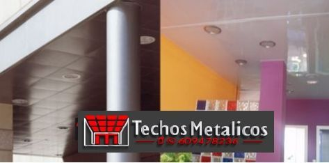 Techos de aluminio en Navalonguilla