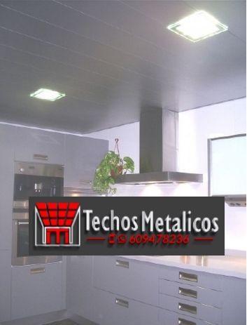 Techos de aluminio en Navalosa