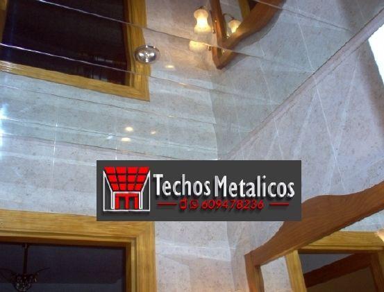 Techos de aluminio en Navaquesera