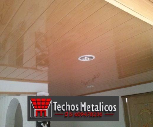 Techos de aluminio en Navarrevisca