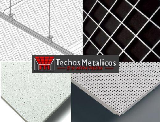 Techos de aluminio en Navatalgordo