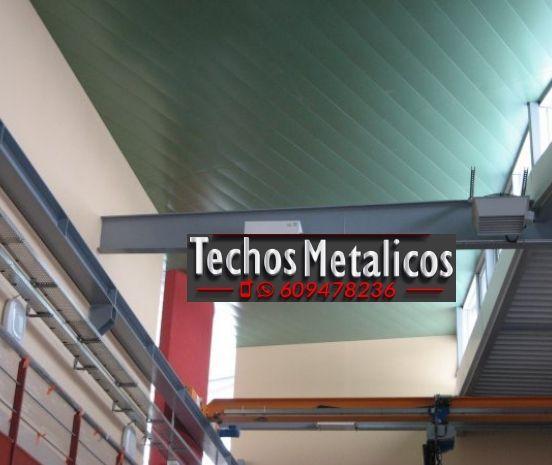 Techos de aluminio en Olula del Río