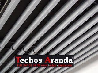Techos de aluminio en Ontiñena