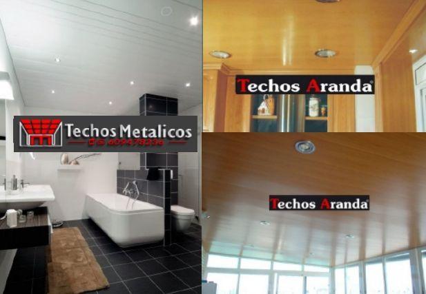 Techos de aluminio en Peguerinos