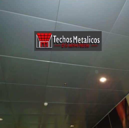 Techos de aluminio en Peranzanes