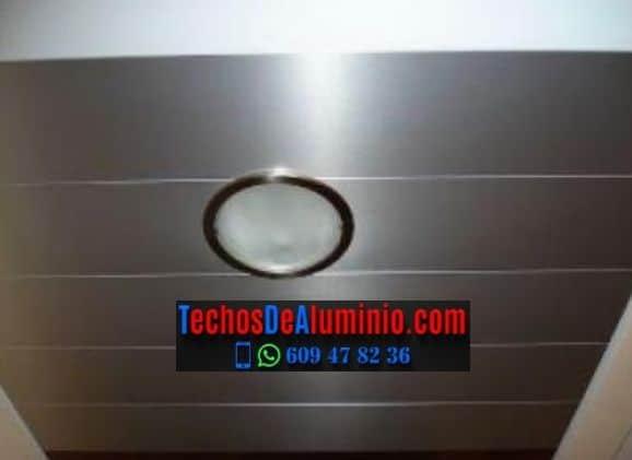 Techos de aluminio en Pertusa