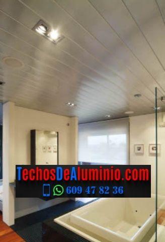 Techos de aluminio en Pinoso