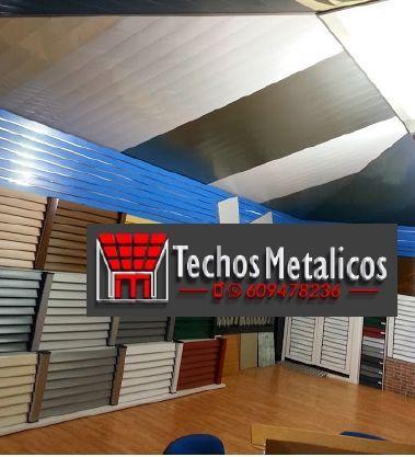 Techos de aluminio en Poleñino