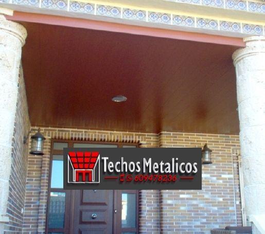 Techos de aluminio en Poveda