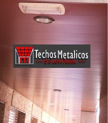 Techos de aluminio en Povedilla