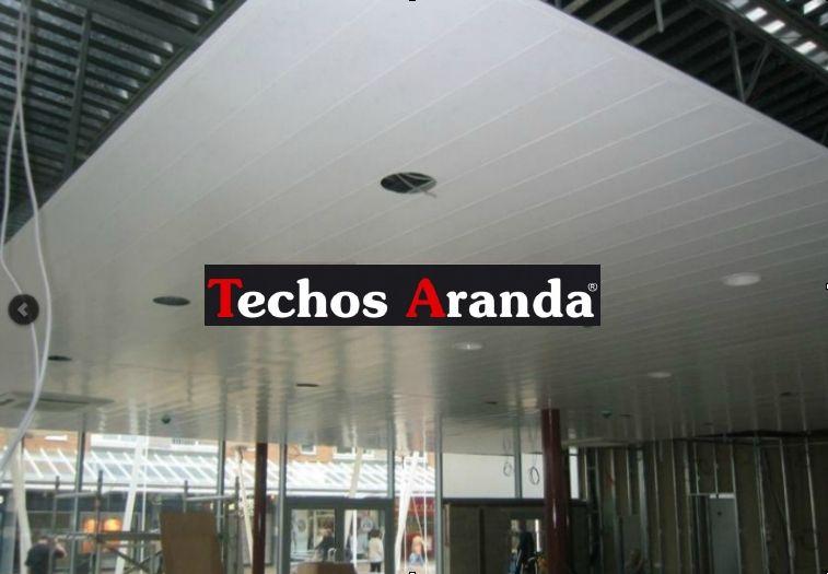 Techos de aluminio en Poyales del Hoyo