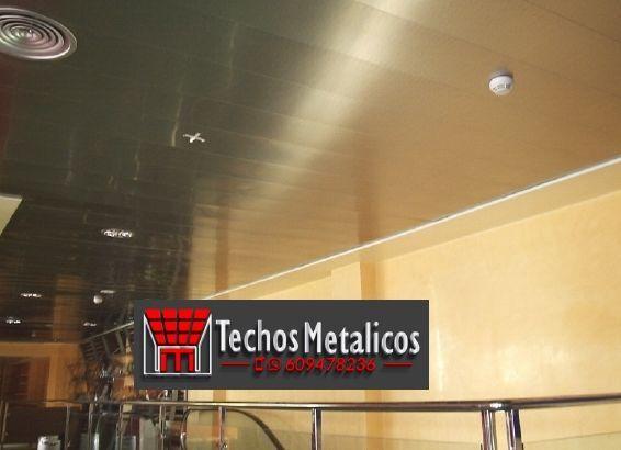 Techos de aluminio en Pozohondo
