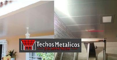 Techos de aluminio en Puente la Reina de Jaca