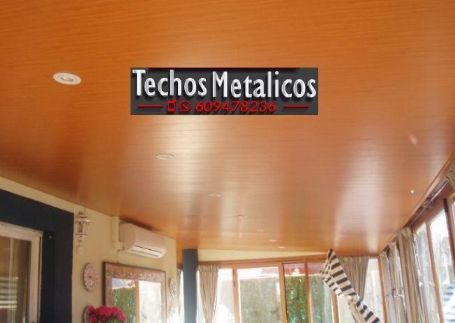 Techos de aluminio en Rágol