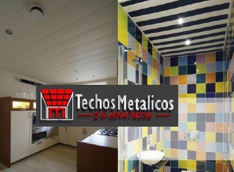 Techos de aluminio en Riocabado