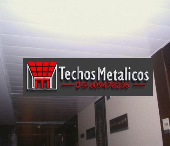 Techos de aluminio en Robres del Castillo