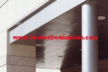 Techos de aluminio en Salas Bajas