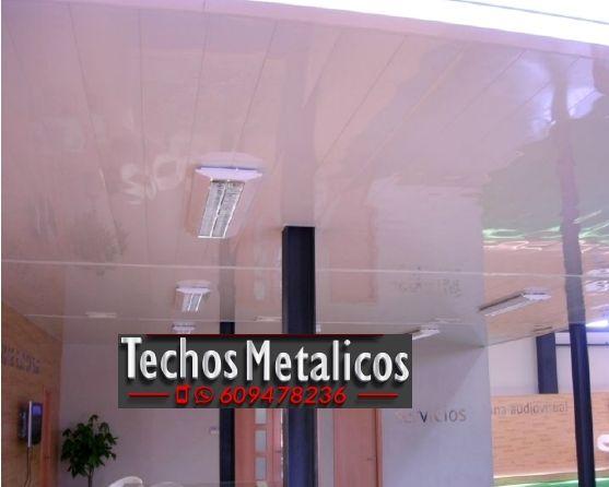 Techos de aluminio en San Miguel de Salinas