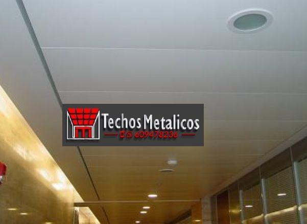 Techos de aluminio en Sariñena