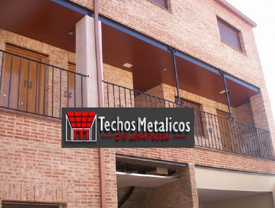 Techos de aluminio en Secastilla