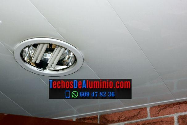Techos de aluminio en Senija