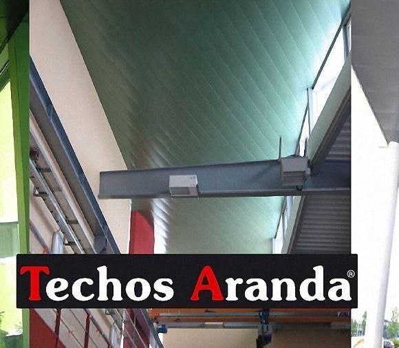 Techos de aluminio en Sesa