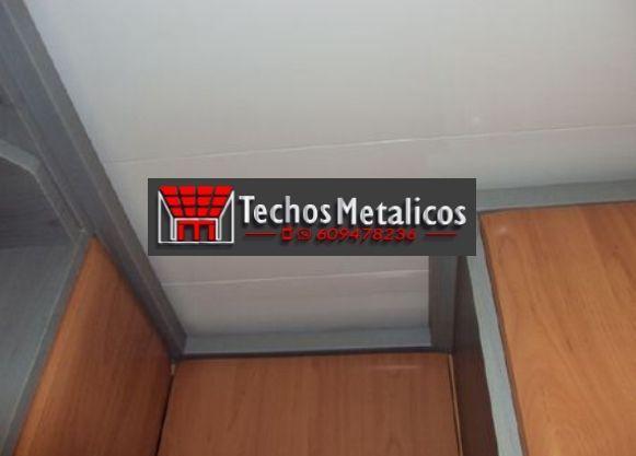 Techos de aluminio en Siétamo