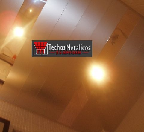 Techos de aluminio en Solana de Ávila