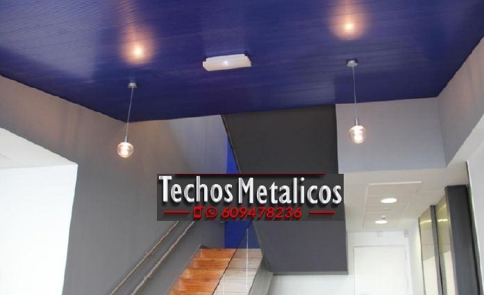 Techos de aluminio en Tabernas