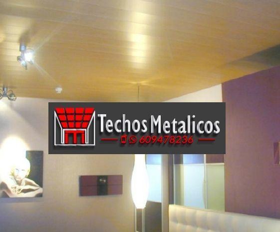 Techos de aluminio en Taboada