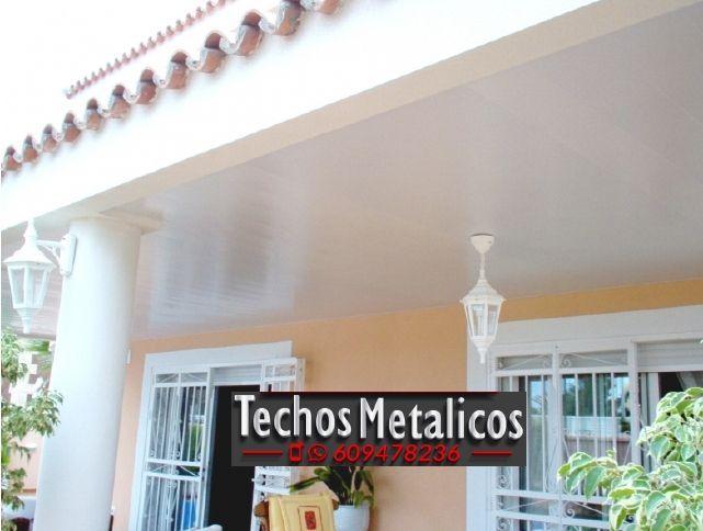Techos de aluminio en Tarazona de la Mancha