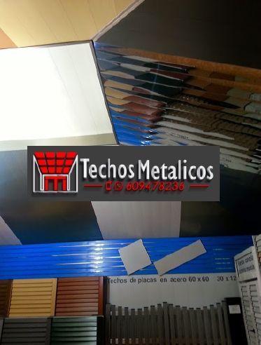Techos de aluminio en Tibi